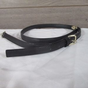 Kate Spade Black Leather Replacement Strap 44""